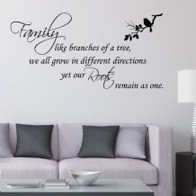 Family Like Branches of a Tree  ~ Wall sticker / decals